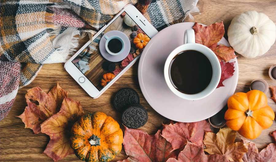 Free Social Media Ideas: October Calendar